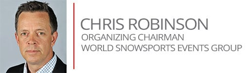 Chris Robinson Organizing Chairman World Snowsports Events Group